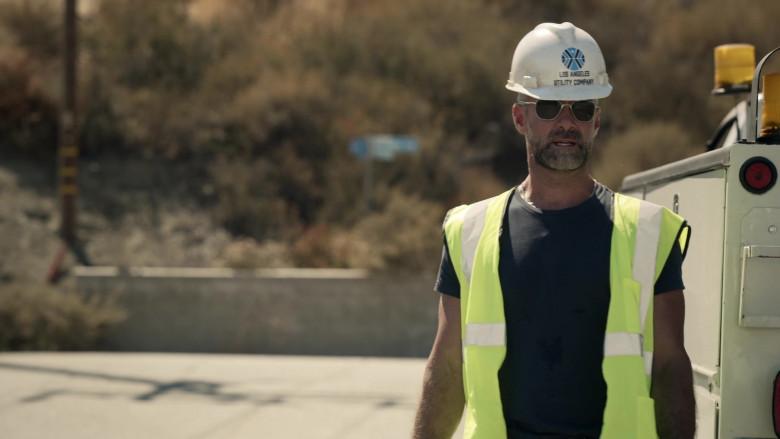 Randolph Engineering Sunglasses of Jay Harrington as Sergeant II David 'Deacon' Kay in SWAT S04E02 TV Show (2)
