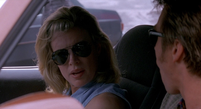 Ray-Ban Aviator Sunglasses Worn by Kim Basinger as Karen in The Real McCoy