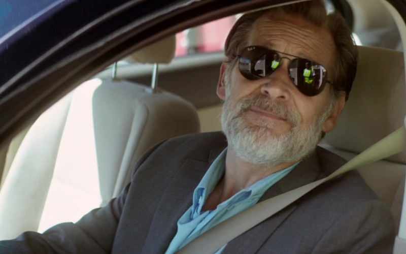 Ray-Ban Aviator Sunglasses of James Remar as Agent Richard Cantrell in Dead Reckoning (2020)
