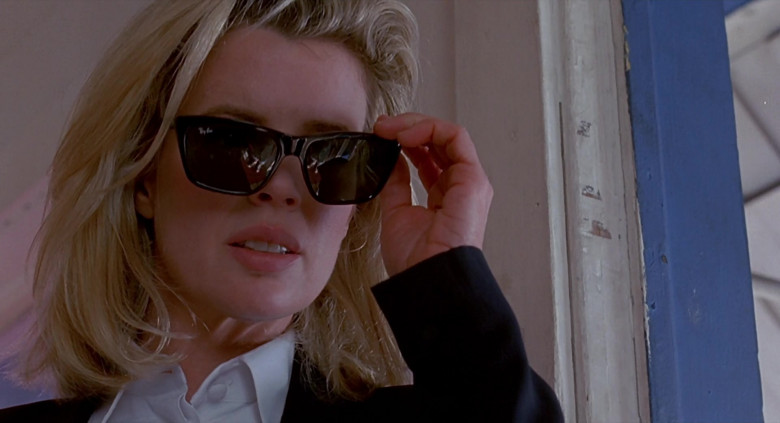 Ray-Ban Bausch & Lomb Sunglasses of Kim Basinger as Karen in The Real McCoy Movie (5)