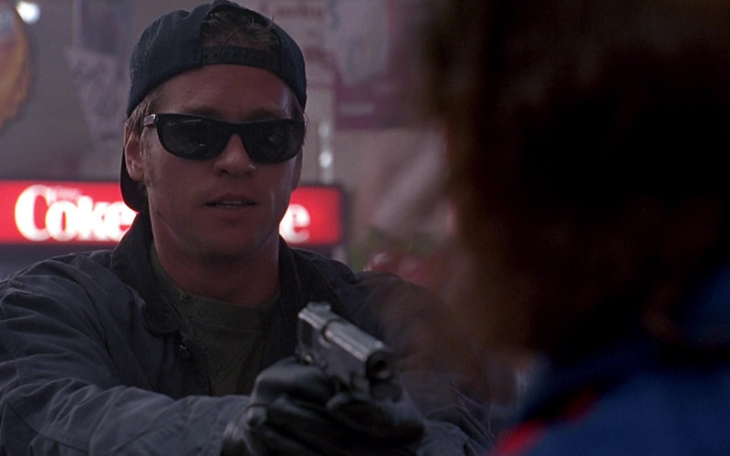 Ray-Ban Sunglasses of Val Kilmer as J.T. Barker in The Real McCoy Movie (1)