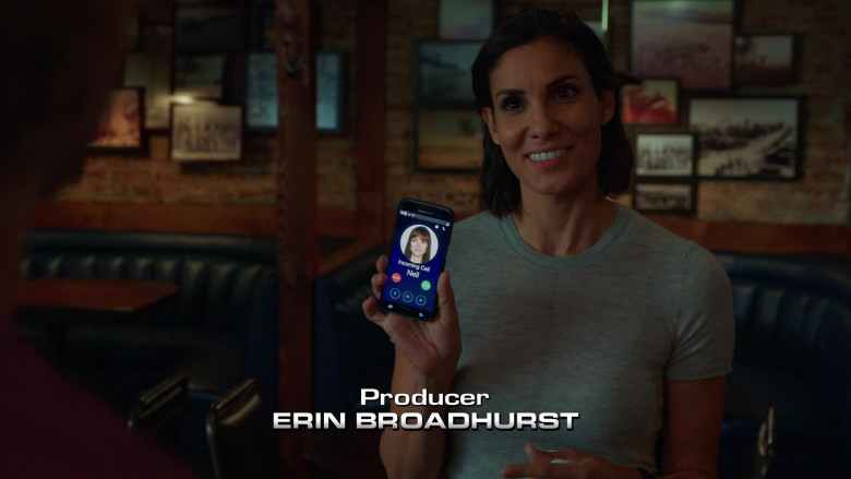 Samsung Galaxy Smartphone of Daniela Ruah as Kensi Blye in NCIS Los Angeles S12E01