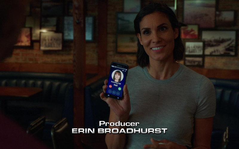 Samsung Galaxy Smartphone of Daniela Ruah as Kensi Blye in NCIS Los Angeles S12E01