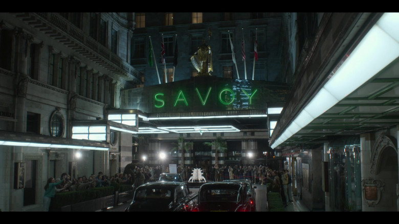 Savoy Hotel in The Crown S04E09