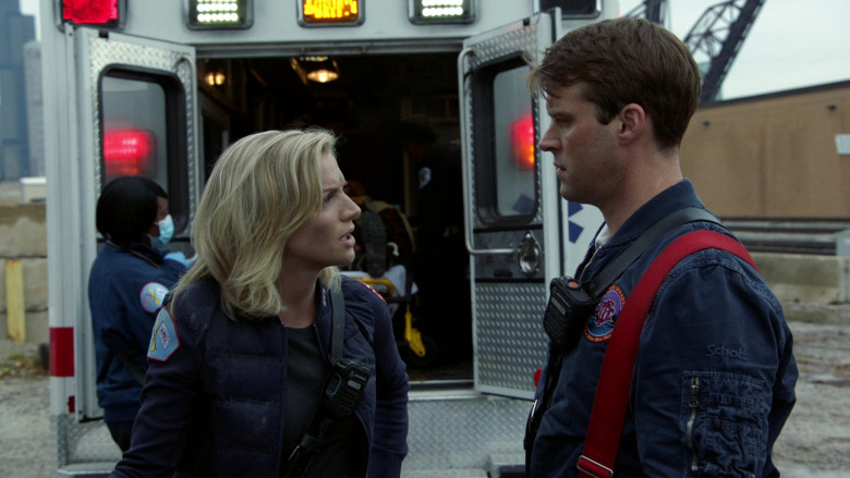 Schott NYC Jacket of Jesse Spencer as Captain Matthew Casey in Chicago Fire S09E02 TV Show