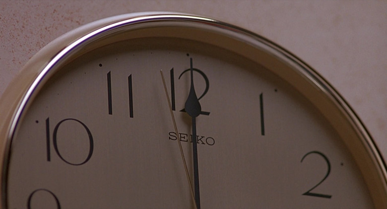Seiko Clock in The Real McCoy (1993)