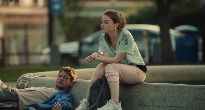 Skechers D'Lites Women's Sneakers of Jessica Barden as Sky in Jungleland Movie (3)