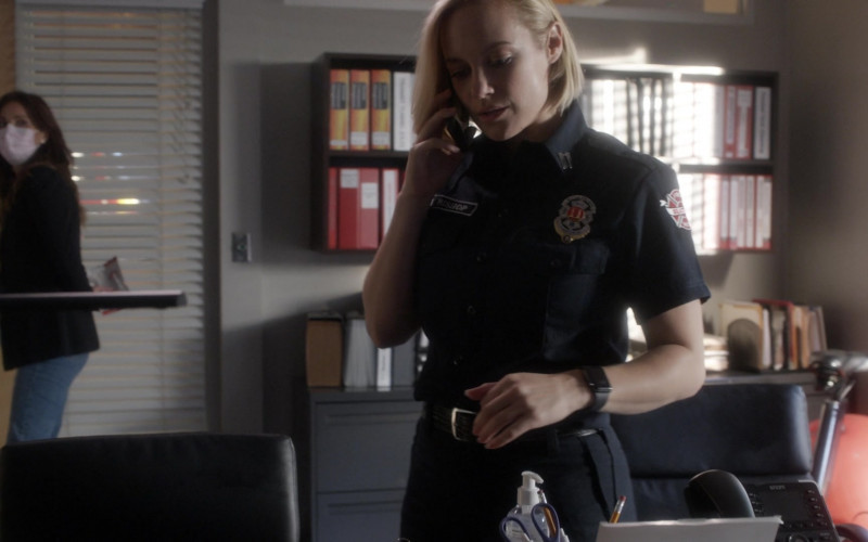 Snom Phone in Station 19 S04E02 Wild World (2020)