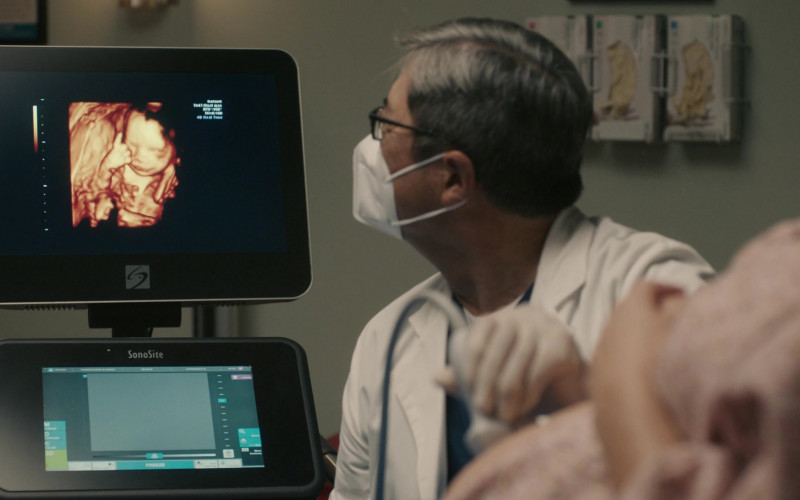 SonoSite X-Porte Ultrasound Machine in This Is Us S05E04 Honestly (2020)