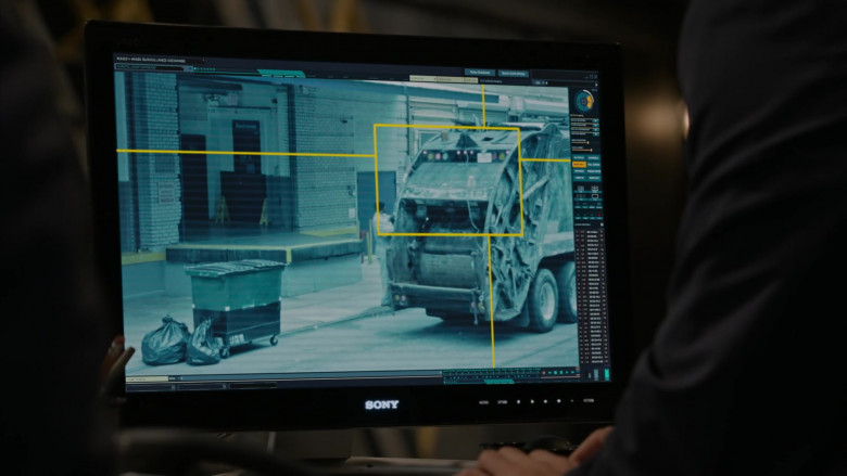 Sony Computer Monitor in The Blacklist S08E01 Roanoke 2020 (2)
