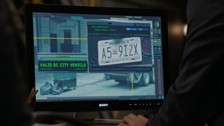 Sony Computer Monitor in The Blacklist S08E01 Roanoke 2020 (3)