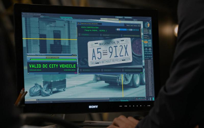 Sony Computer Monitor in The Blacklist S08E01 Roanoke 2020 (3)