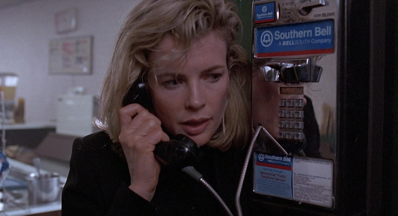 Southern Bell (A BellSouth Company) Payphone used by Kim Basinger as Karen in The Real McCoy Movie (1)