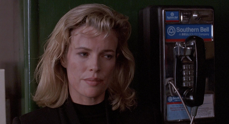 Southern Bell (A BellSouth Company) Payphone used by Kim Basinger as Karen in The Real McCoy Movie (2)