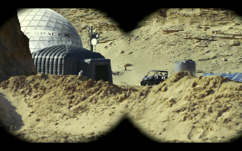 SpaceX Aerospace Company in Moonbase 8 S01E04 TV Show (1)