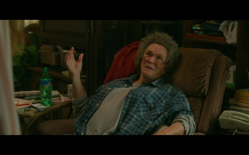 Sprite Soda Enjoyed by Glenn Close as Mamaw Vance in Hillbilly Elegy