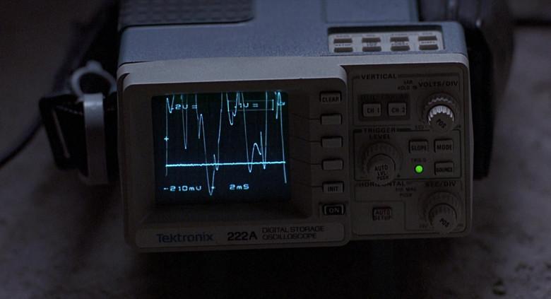 Tektronix 222A Digital Storage Oscilloscope in The Real McCoy (1993)