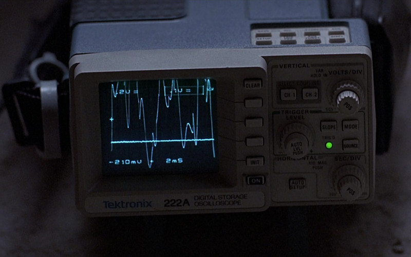 Tektronix 222A Digital Storage Oscilloscope in The Real McCoy (1993)