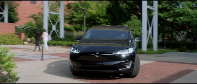Tesla Model X P100D Black Car of Melissa McCarthy in Superintelligence Movie (1)
