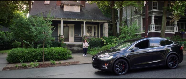 Tesla Model X P100D Black Car of Melissa McCarthy in Superintelligence Movie (12)