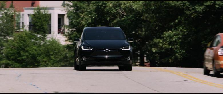 Tesla Model X P100D Black Car of Melissa McCarthy in Superintelligence Movie (5)