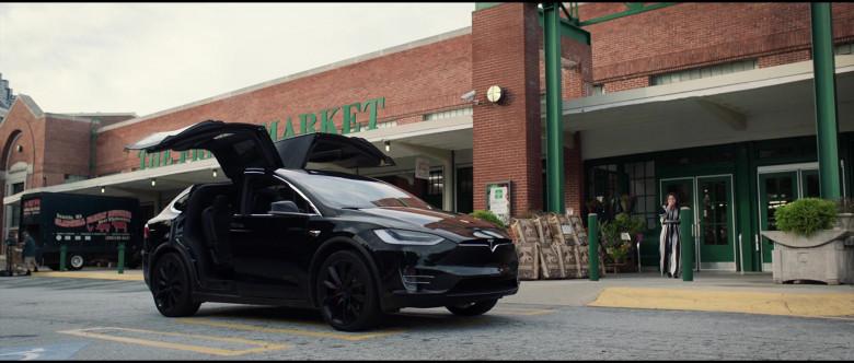 Tesla Model X P100D Black Car of Melissa McCarthy in Superintelligence Movie (9)