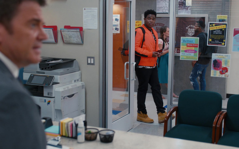 Timberland Boots of Dexter Darden as Devante Young in Saved by the Bell S01E09