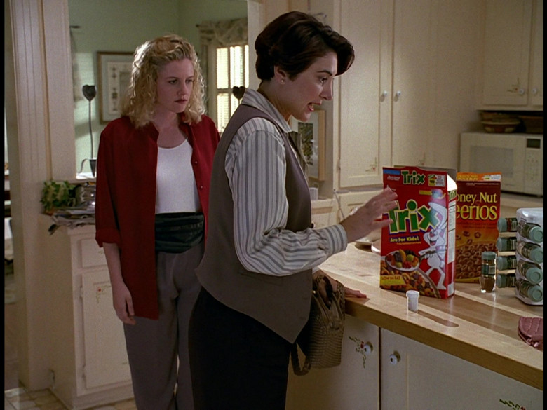 Trix and Honey Nut Cheerios Breakfast Cereals by General Mills in Honey, We Shrunk Ourselves! (1997)