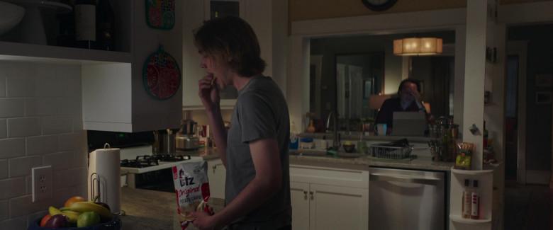 UTZ Chips Enjoyed by Charlie Plummer as Adam in Words on Bathroom Walls (2020)