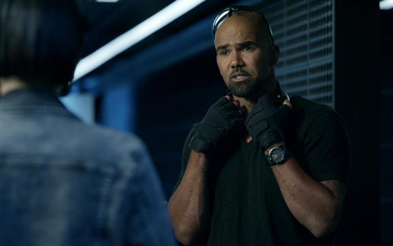 5.11 Men's Watch Worn by Shemar Moore as Sergeant II Daniel 'Hondo' Harrelson Jr. in SWAT S04E06 (1)