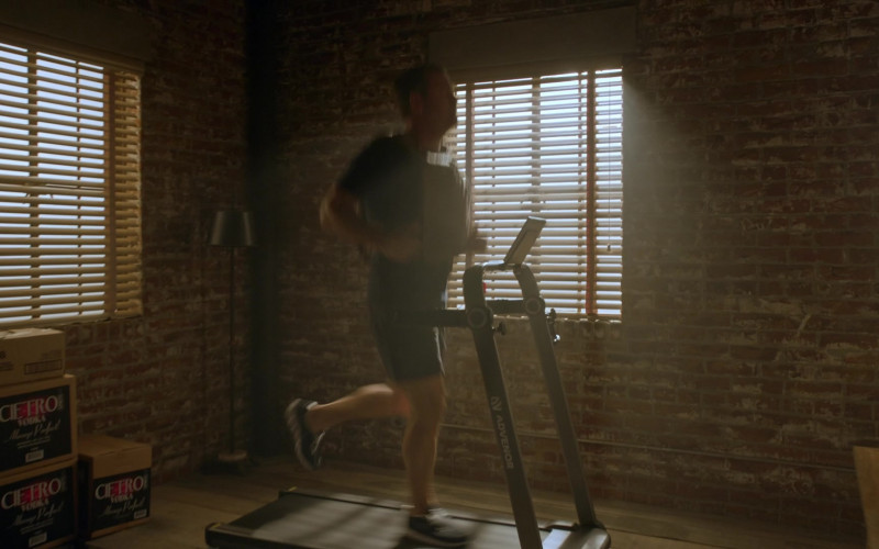 ADVENOR Treadmill of Chris O'Donnell as G. Callen in NCIS Los Angeles S12E04