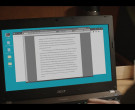 Acer Laptop of Nick Robinson as Eric Walker in A Teacher: Ep...