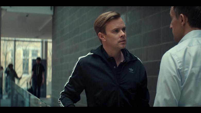 Adidas Black Jacket of Morgan Kelly as Mr. Renfrew in Tiny Pretty Things S01E09 (2)