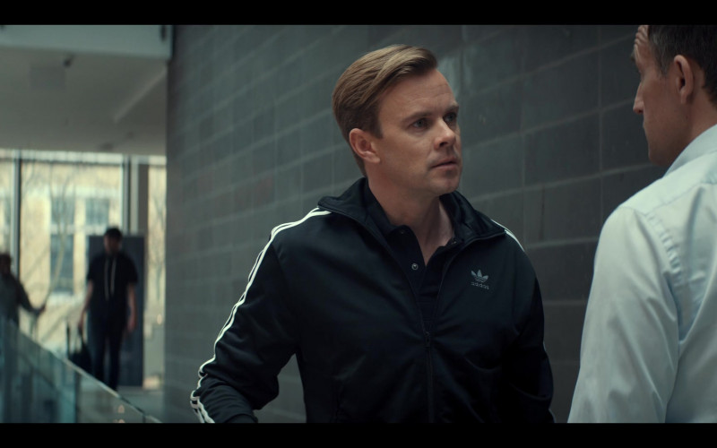 Adidas Black Jacket of Morgan Kelly as Mr. Renfrew in Tiny Pretty Things S01E09 (2)