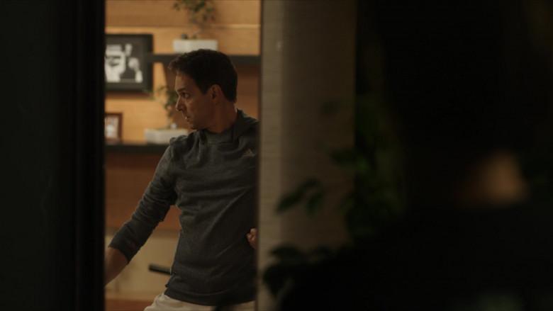 Adidas Men's Hoodie of Ralph Macchio as Daniel LaRusso in Cobra Kai S01E06 (1)