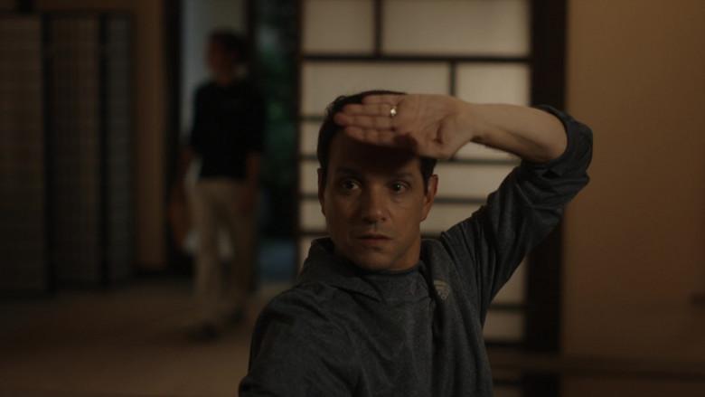 Adidas Men's Hoodie of Ralph Macchio as Daniel LaRusso in Cobra Kai S01E06 (2)