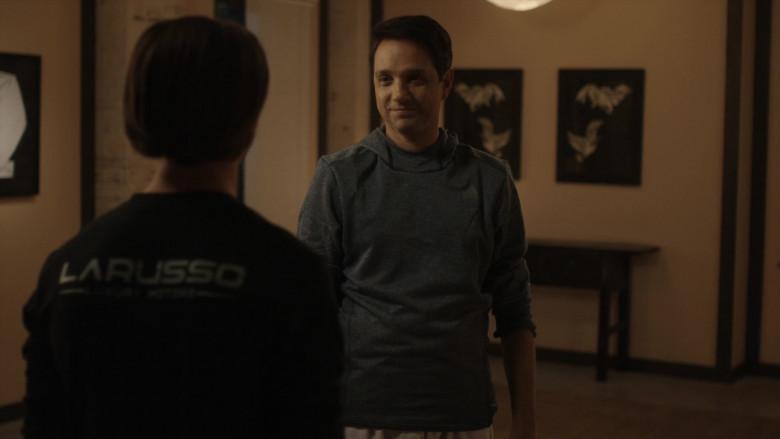 Adidas Men's Hoodie of Ralph Macchio as Daniel LaRusso in Cobra Kai S01E06 (4)