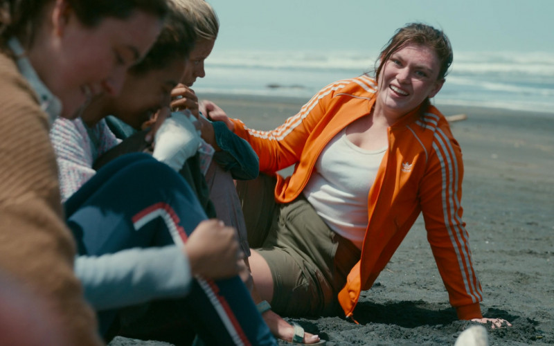Adidas Women's Bomber Jacket of Shannon Berry as Dot Campbell in The Wilds S01E08 Day Sixteen (1)