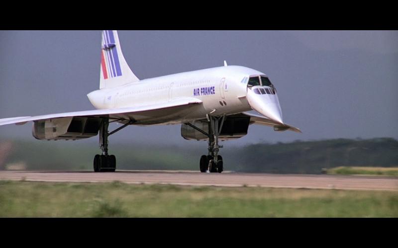 Air France Concorde Jet in Moonraker (1)