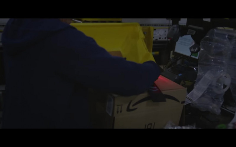 Amazon Prime Boxes in Nomadland (2020)
