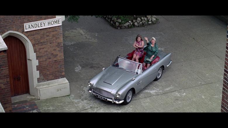Aston Martin DB4 Convertible Car in The Italian Job (1969)