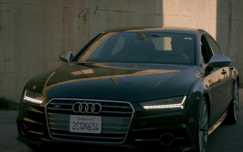 Audi S7 Black Car of Ralph Macchio as Daniel LaRusso in Cobra Kai S02E10 (1)