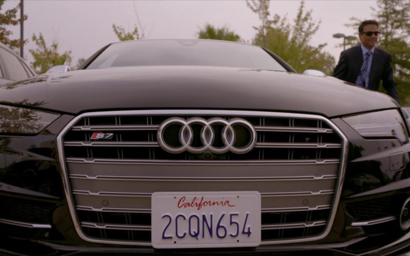 Audi S7 Car of Ralph Macchio as Daniel LaRusso in Cobra Kai S01E02 (1)