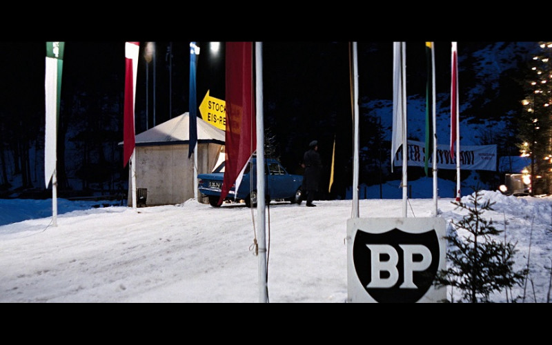 BP (British Petroleum) Ads in On Her Majesty's Secret Service (1969)