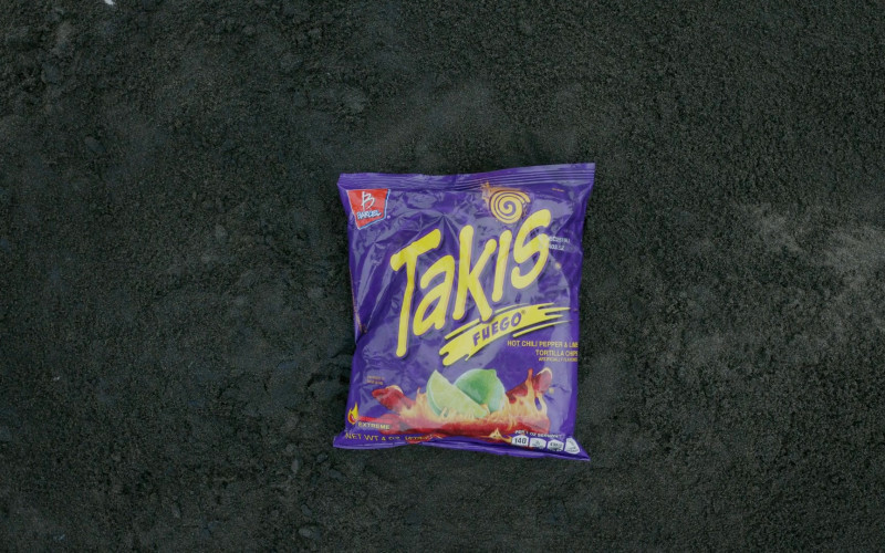 Barcel Takis Chips in The Wilds S01E04 (1)