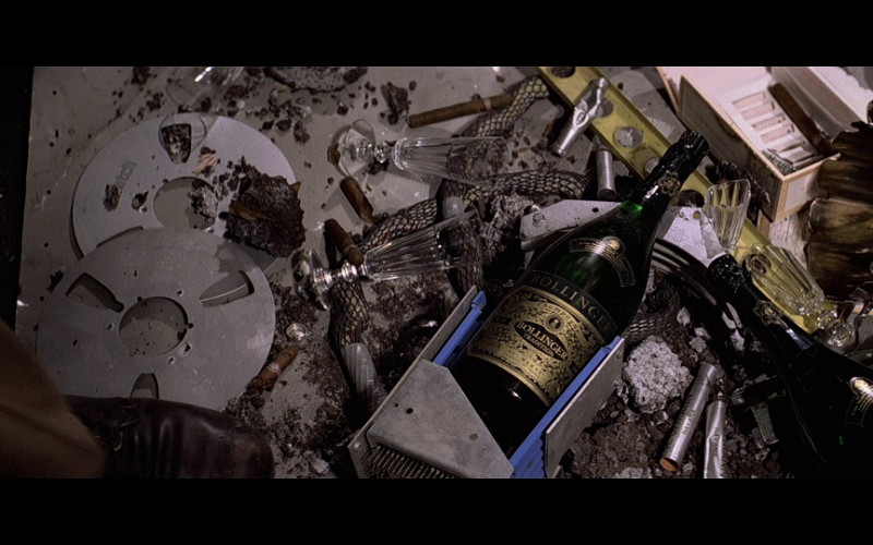 Bollinger Champagne Bottles in Moonraker (1979)