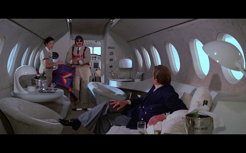 Bollinger Champagne Ice Bucket Cooler in Moonraker (1979)