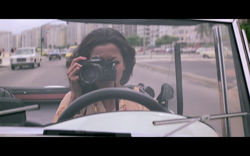Canon Photography Camera in Moonraker (1979)