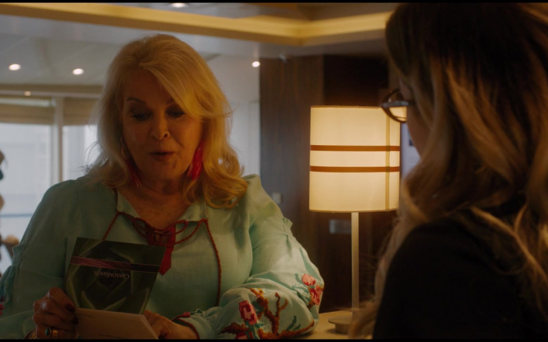 Canyon Ranch Spa Card Held by Candice Bergen as Roberta in Let Them All Talk (2020)