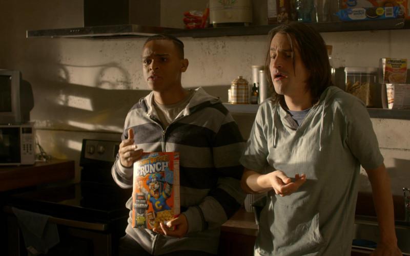 Cap'n Crunch Peanut Butter Crunch Breakfast Cereal in Cobra Kai S01E06 (1)